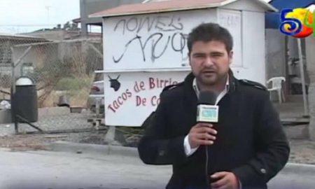 El periodista mexicano Luciano Rivera