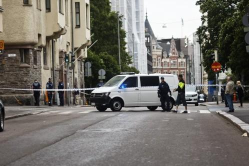 Un vehículo arrolla a una multitud en Helsinki y deja al menos un muerto y varios heridos