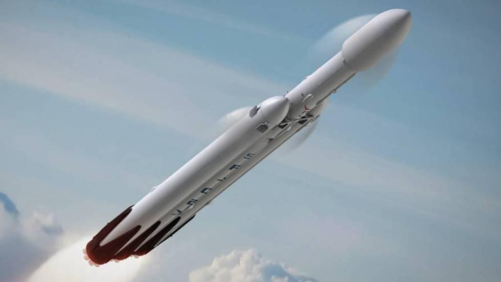 Elon Musk planea el estreno del cohete Falcon Heavy para noviembre