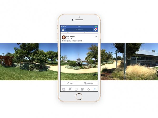 Fotografías en 360 grados, el nuevo atractivo de Facebook