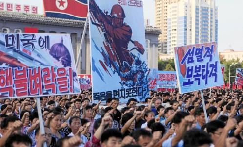 Corea del Norte amenaza con atacar las bases estadounidenses de Guam