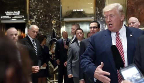 Trump: «Kim Jong-un tomó una decisión muy sabia al no atacar Guam»