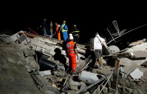 escombros temblor italia