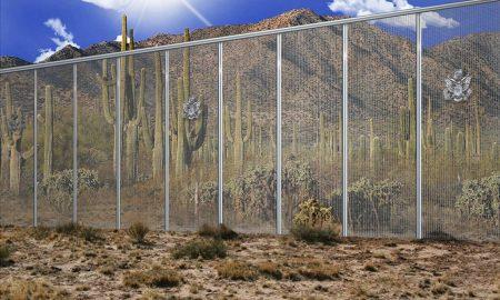 simulacion propuesta muro EU mexico