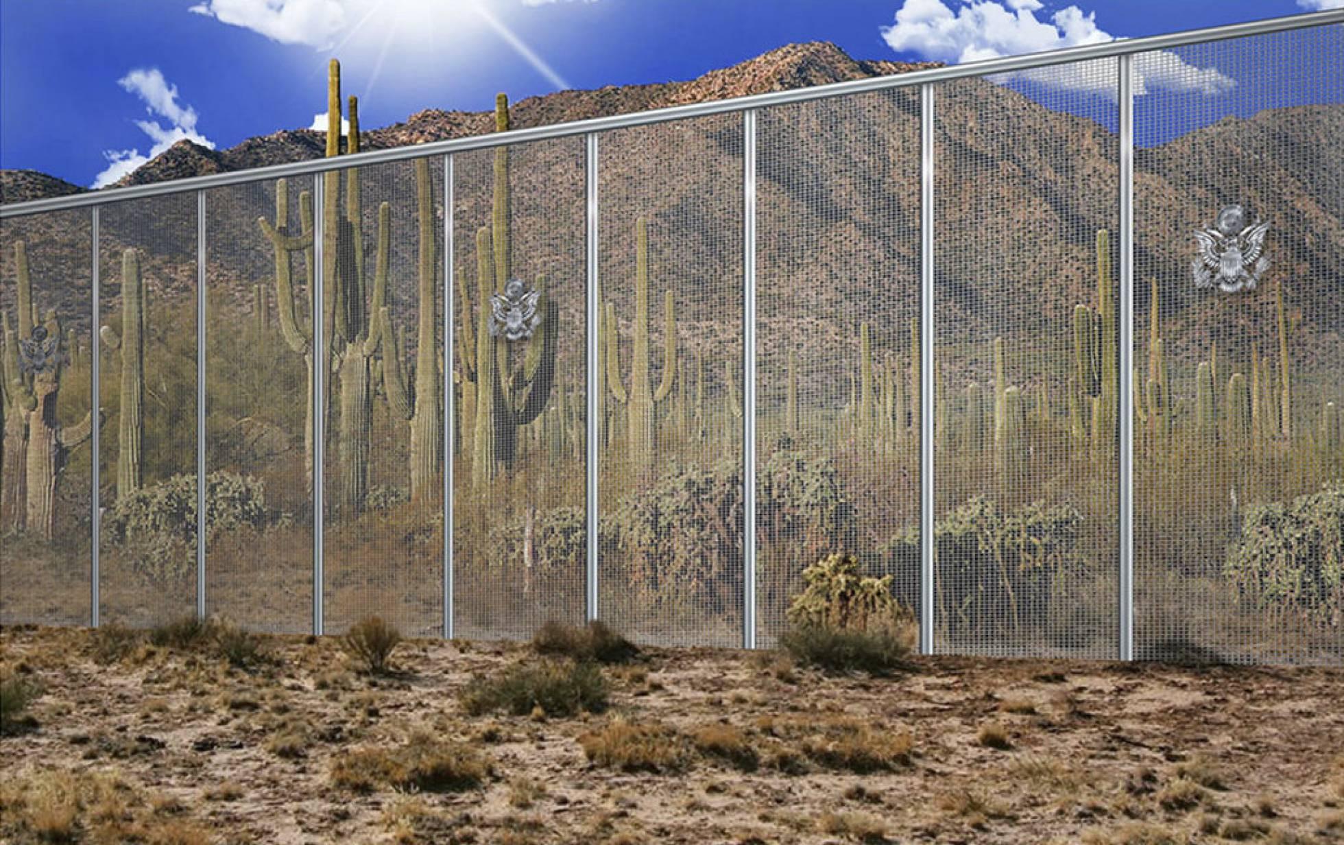 Estados Unidos suaviza los requisitos medioambientales para obras en el muro con México