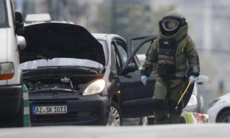 vehiculo detenido bruselas
