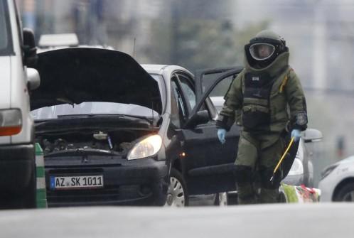 La policía detiene en Bruselas a un conductor que decía llevar explosivos