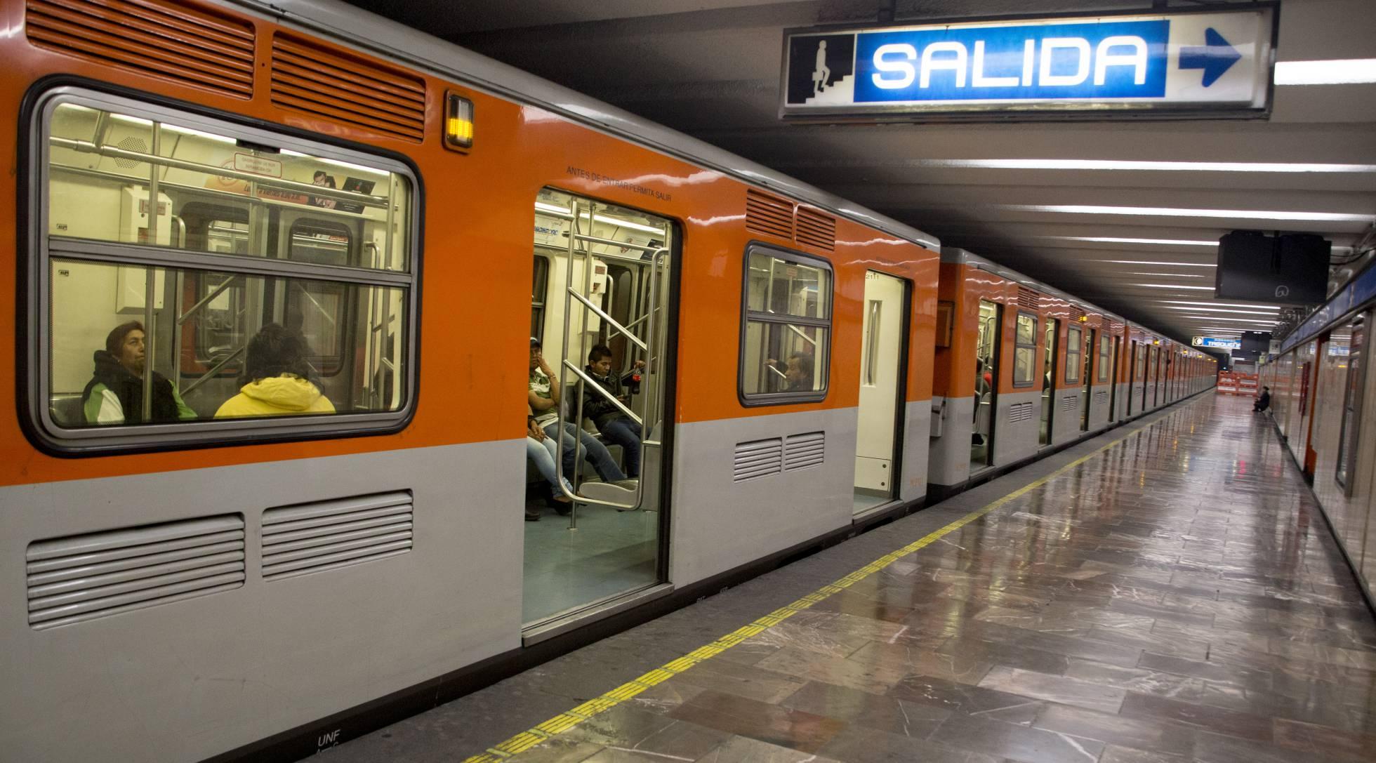 El metro de la Ciudad de México, un búnker contra los terremotos