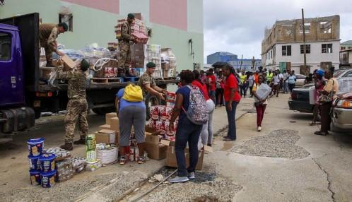 Dominica, devastada por el huracán María que se dirige ahora a Puerto Rico