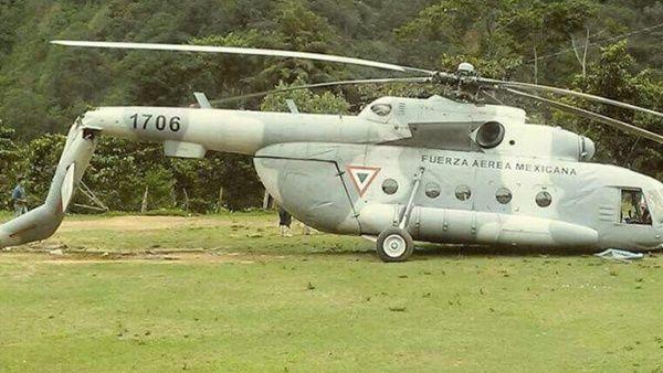 Un helicóptero que portaba ayuda para las víctimas del terremoto se desploma en México