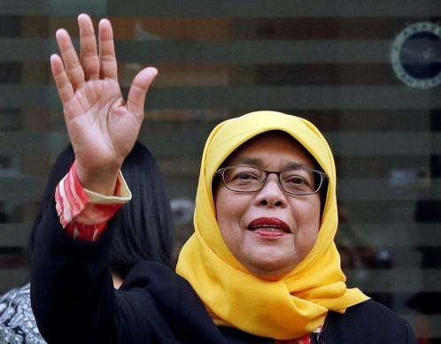 La musulmana Halimah Yacob será la primera mujer presidenta de Singapur