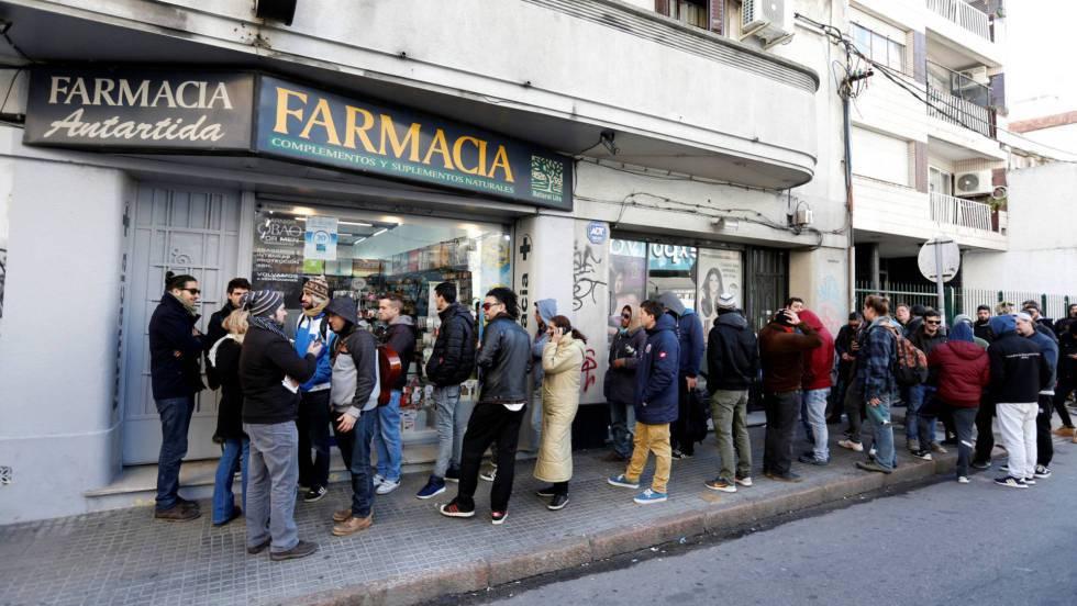 compradores de marihuana
