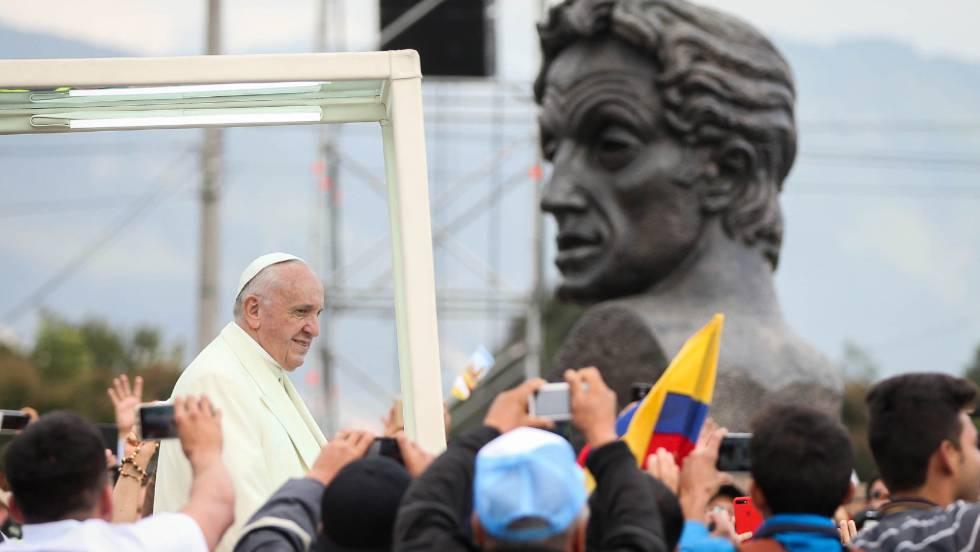 El 'milagro' del Papa en Bogotá