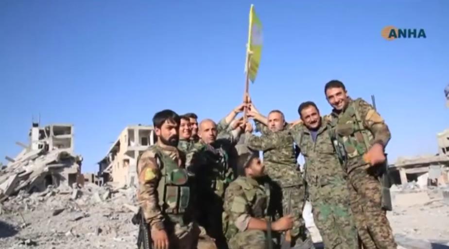 Las FDS completan la toma de Raqqa, antigua «capital» de Estado Islámico en Siria