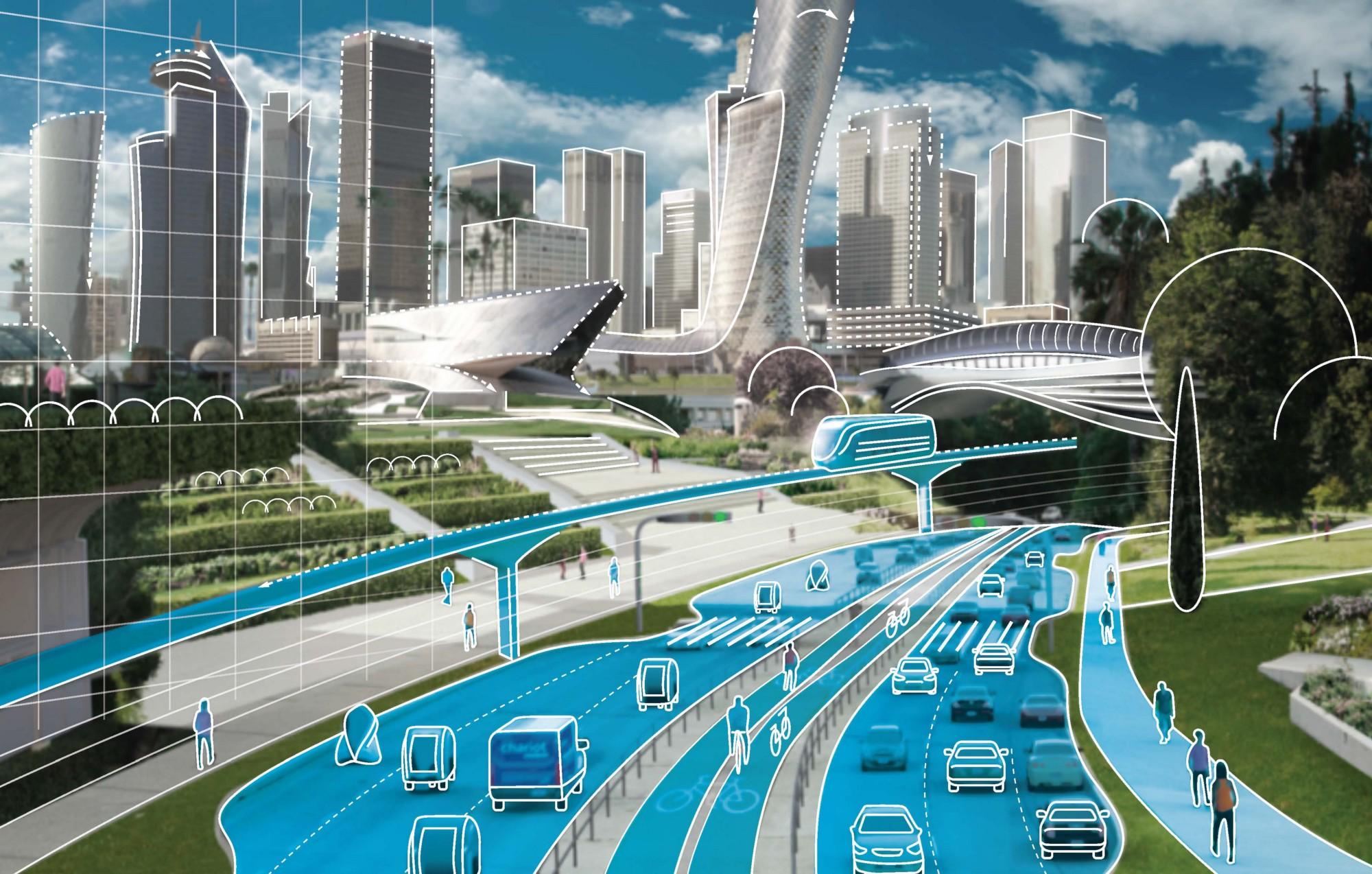 Algunas ciudades cambiarán su densidad con la llegada de los vehículos autónomos