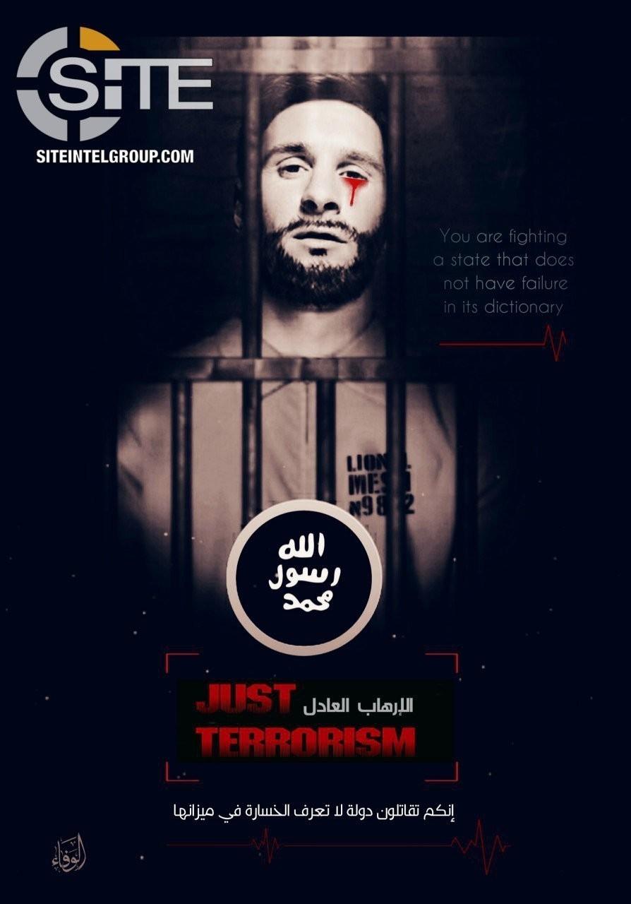 Estado Islámico utiliza una imagen de Messi para amenazar el Mundial de Rusia