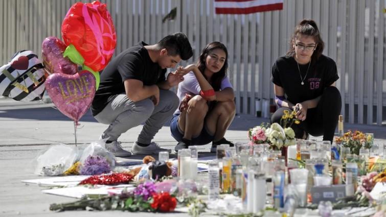El tirador de Las Vegas disparó balas incendiarias a un tanque de gasolina