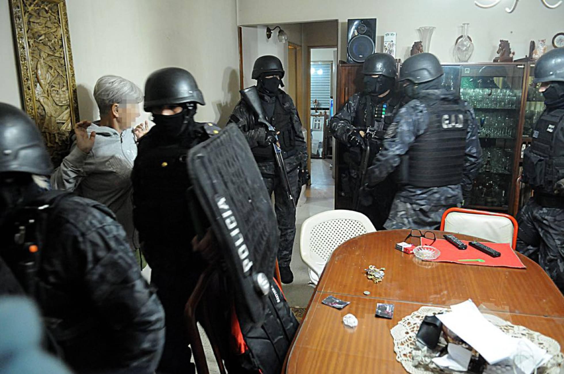 policia en argentina