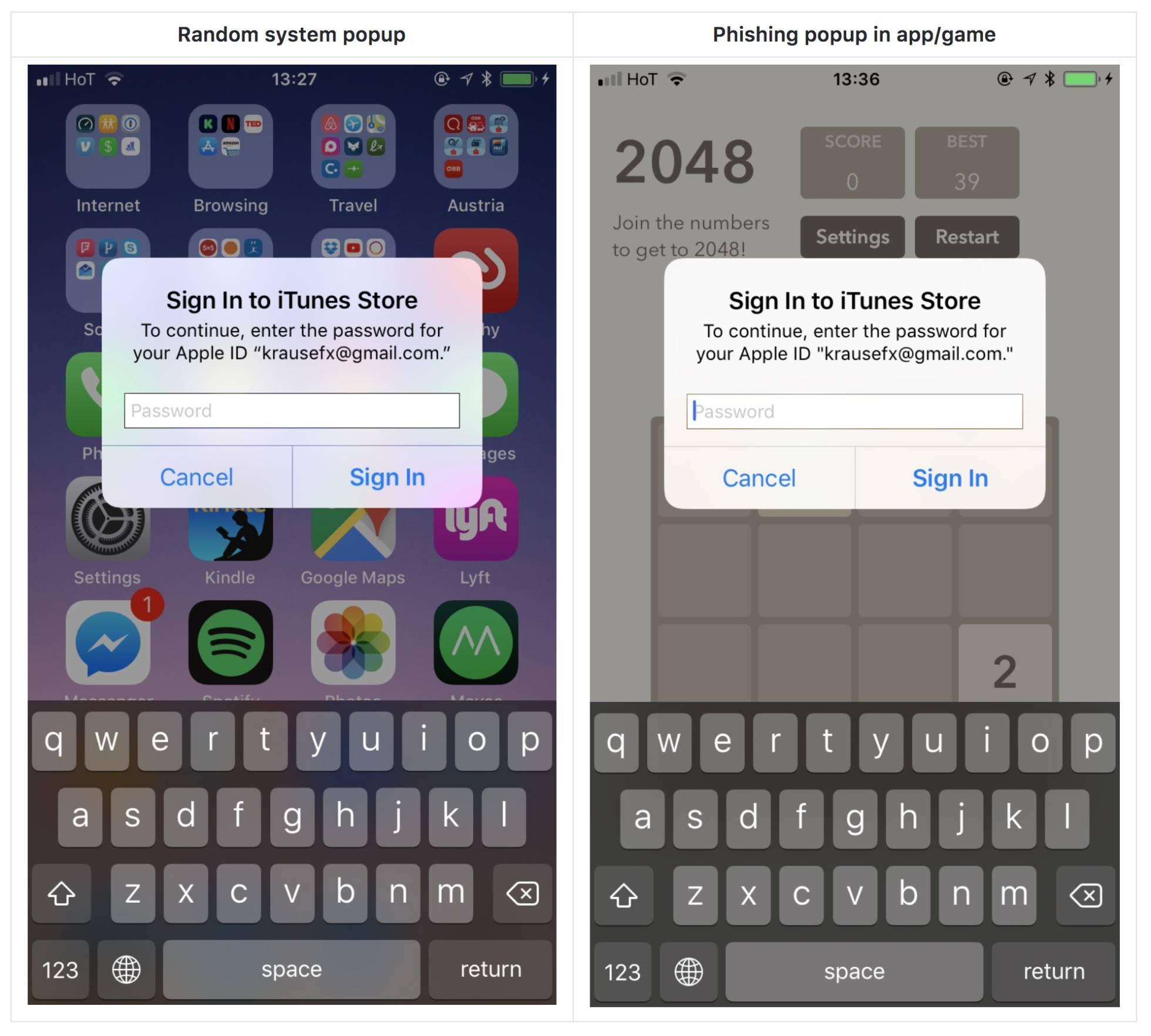 toquen iphone