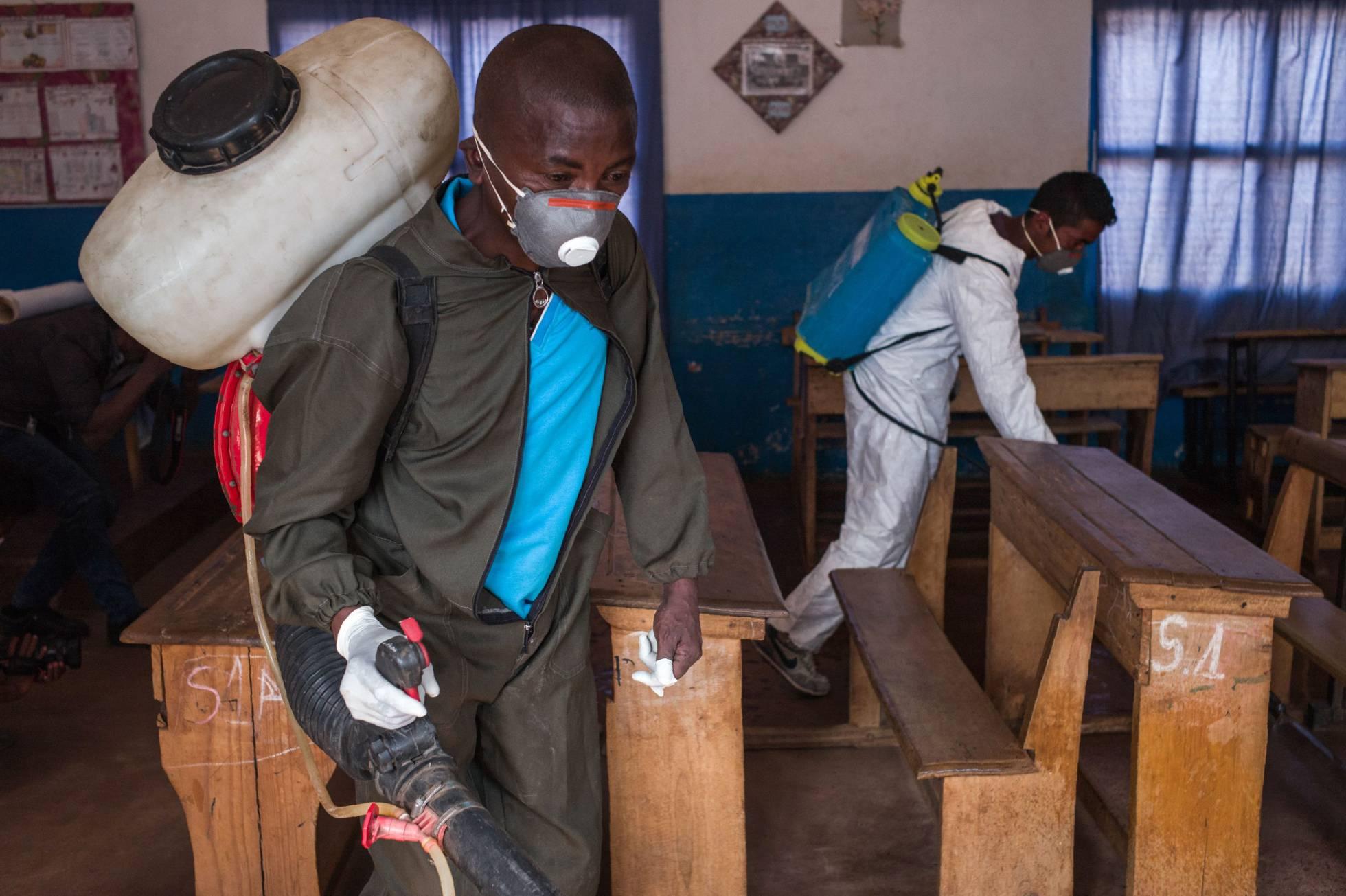 La peste mata a 124 personas en Madagascar desde agosto