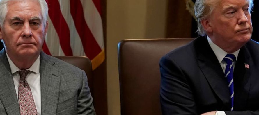 La Casa Blanca planea sustituir al secretario de Estado por el jefe de la CIA