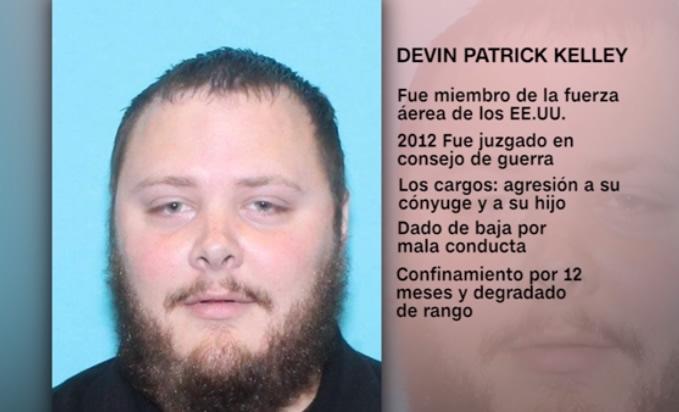 El atacante de Texas tenía tres heridas de bala, revela autopsia