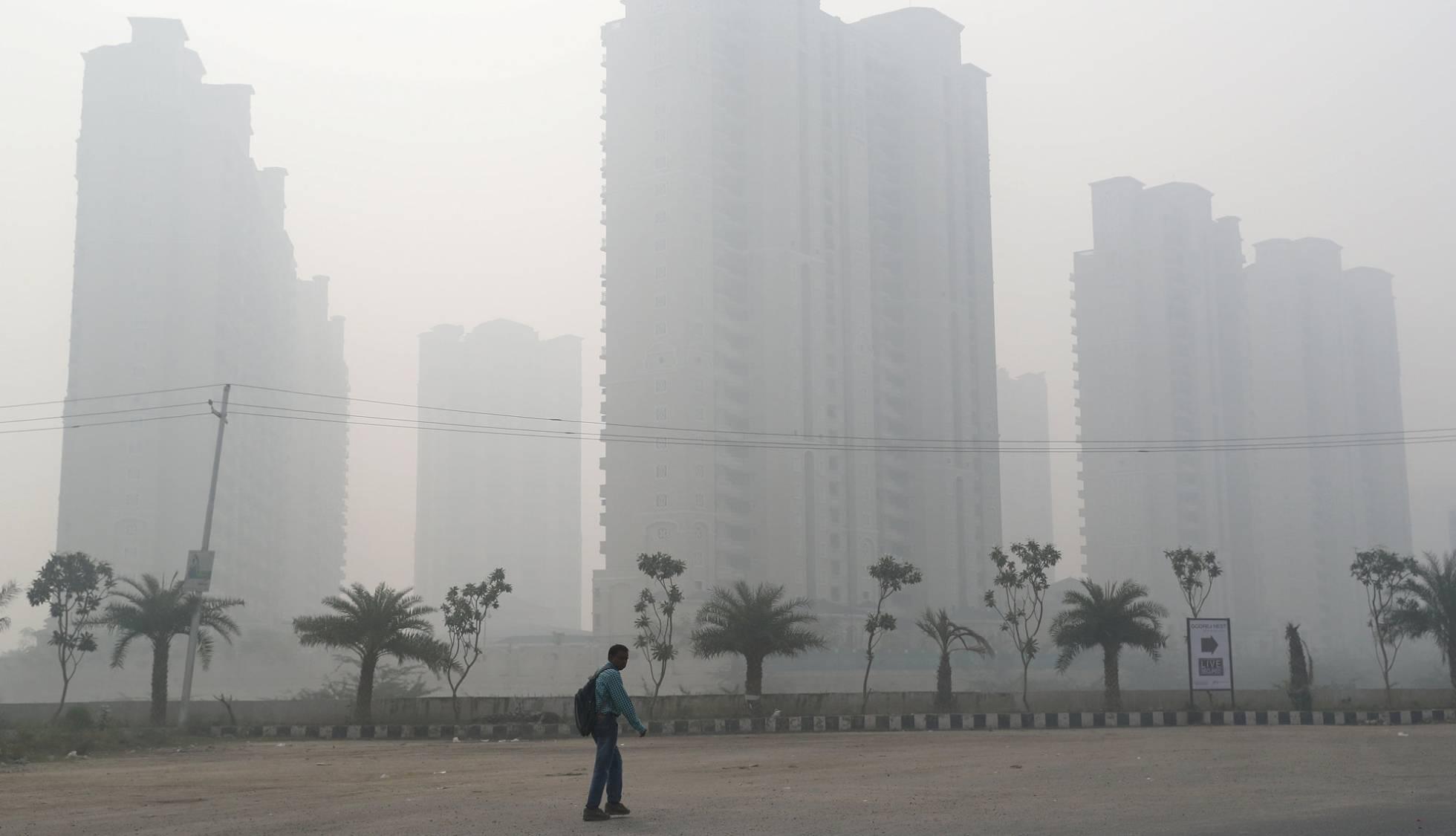 La contaminación en Nueva Delhi supera diez veces el límite recomendado