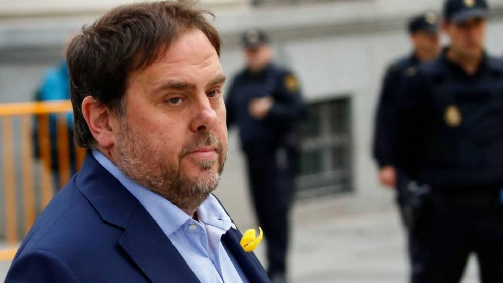 Junqueras pide salir de prisión para participar en la campaña electoral