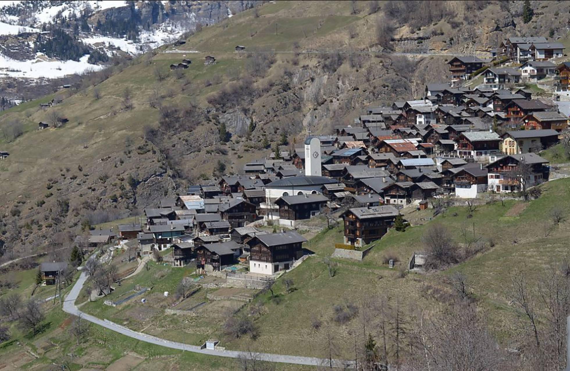 Albinen, el pueblo suizo que quiere pagar 21.300 euros a quienes se queden a vivir