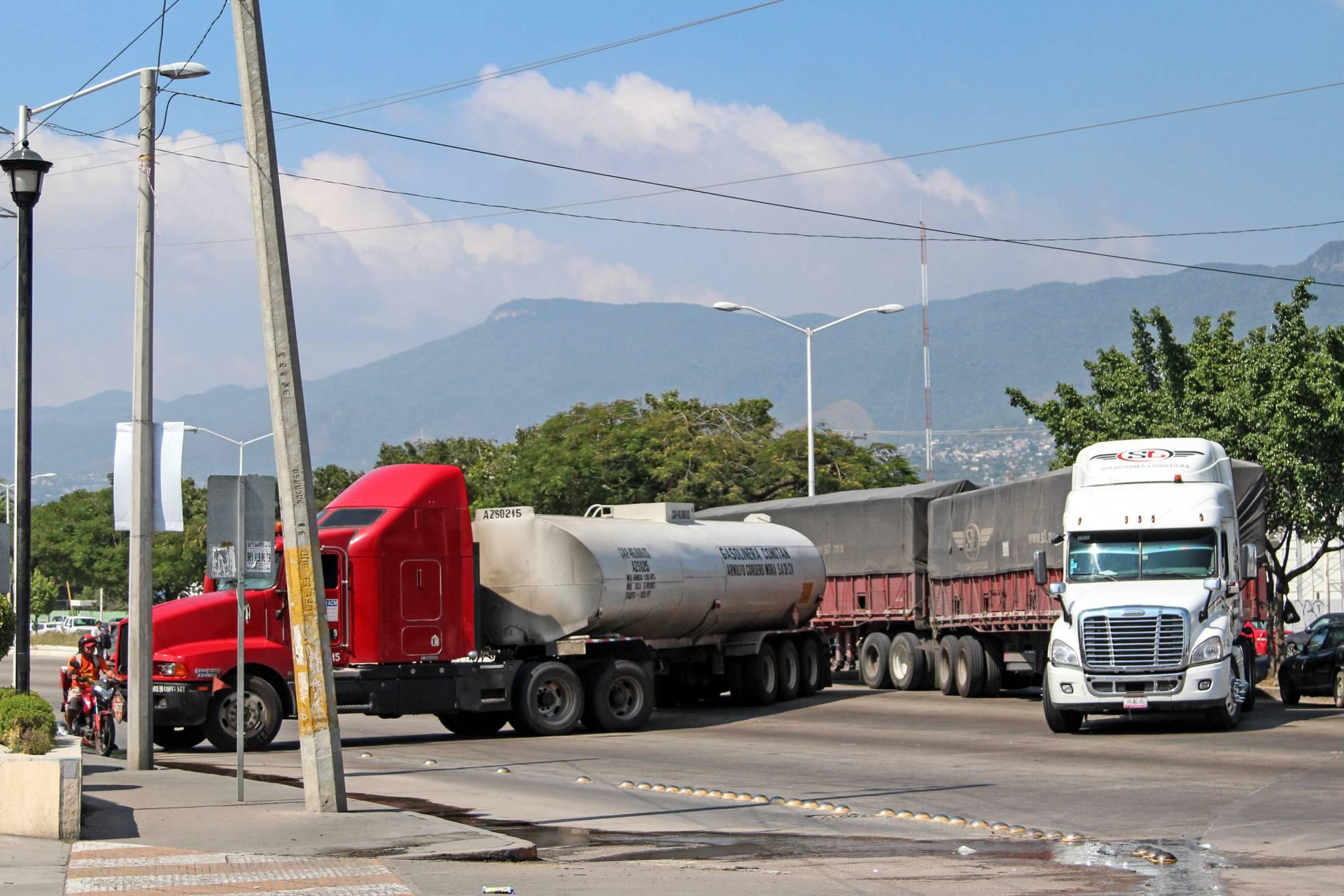 camiones en chiapas