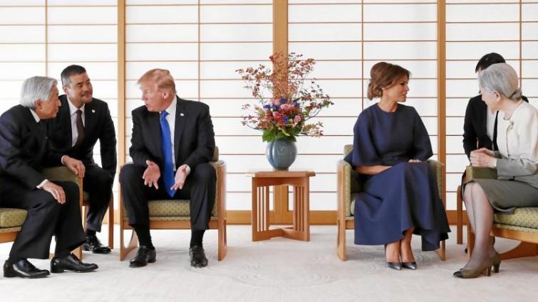 Trump intenta vender armas a Japón en plena escalada con Corea del Norte