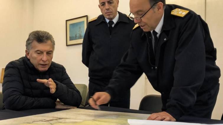 Sin noticias del submarino argentino y sus 44 tripulantes