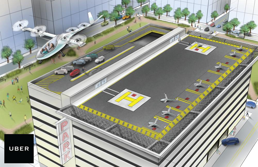 Se espera que los autos voladores estén surcando los cielos de los Ángeles para el 2020
