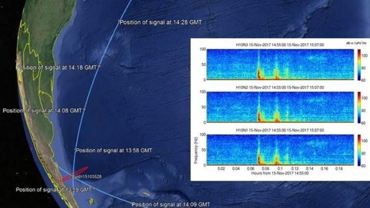 La Armada argentina confirma que hubo una explosión en el submarino desaparecido
