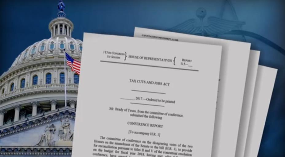 La Cámara de Representantes de EE UU aprueba la gran reforma fiscal de Trump