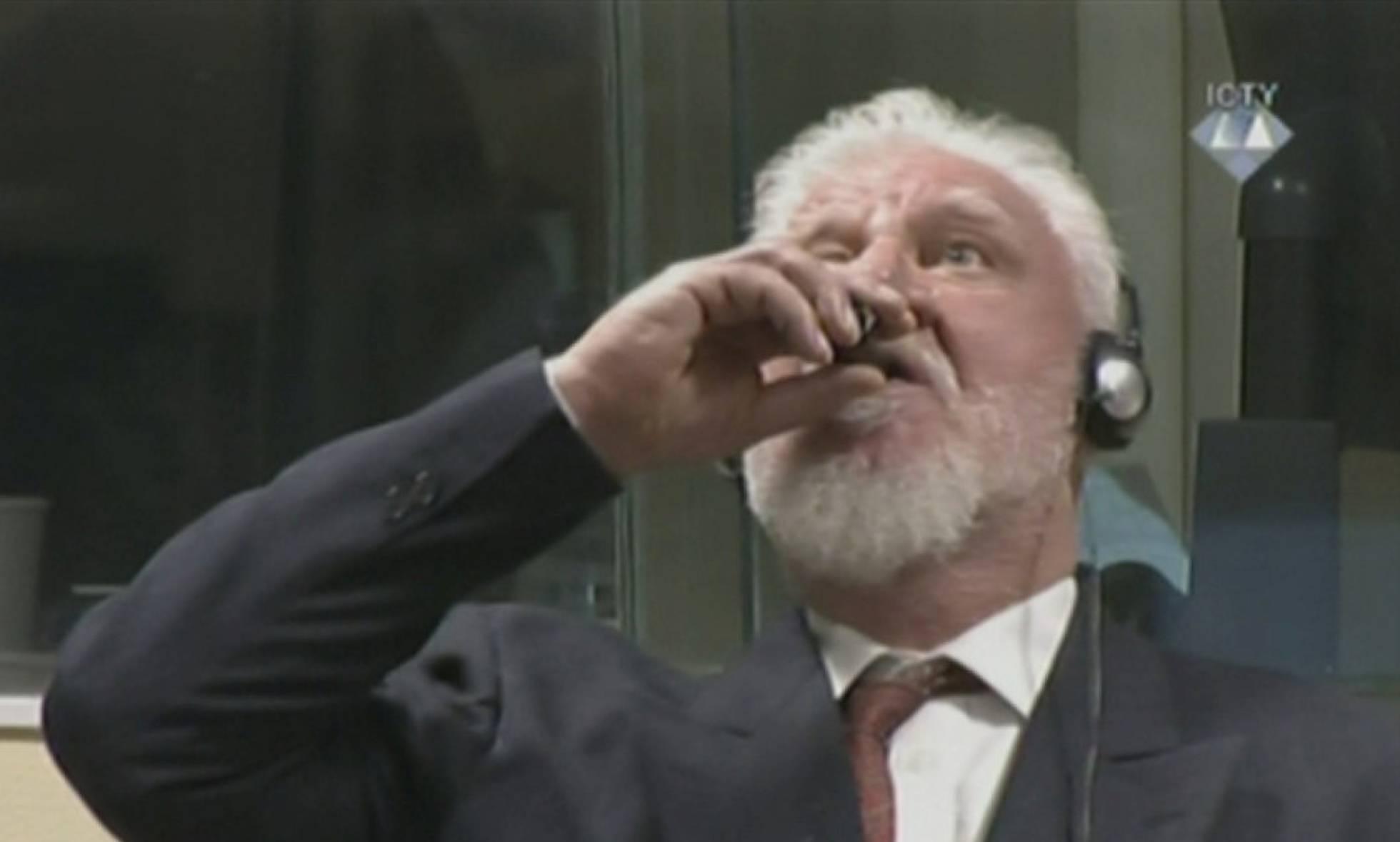 "El general bosniocroata Praljak murió de ""insuficiencia cardiaca"" por cianuro"