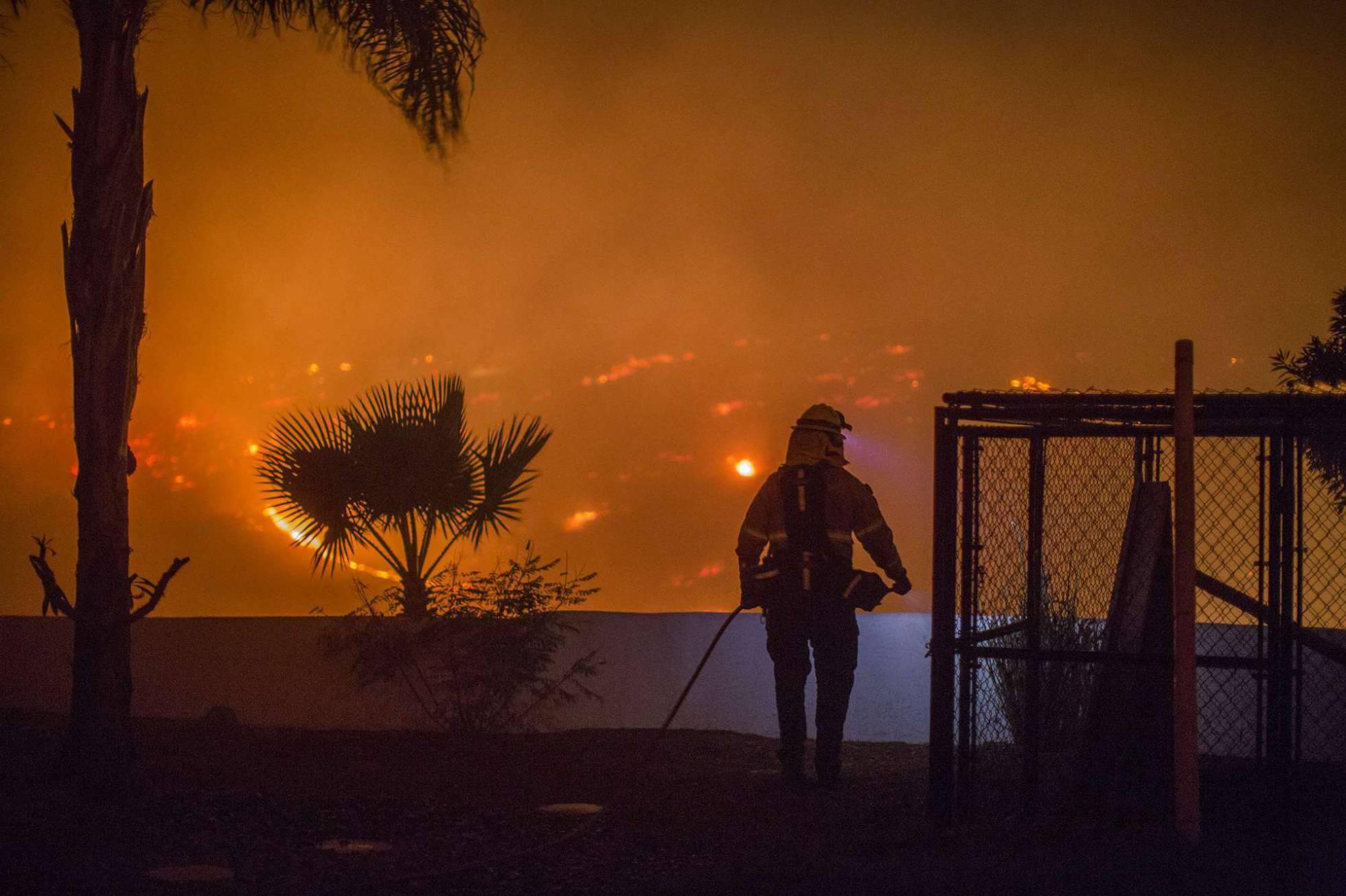 Trump decreta el estado de emergencia en California por los incendios