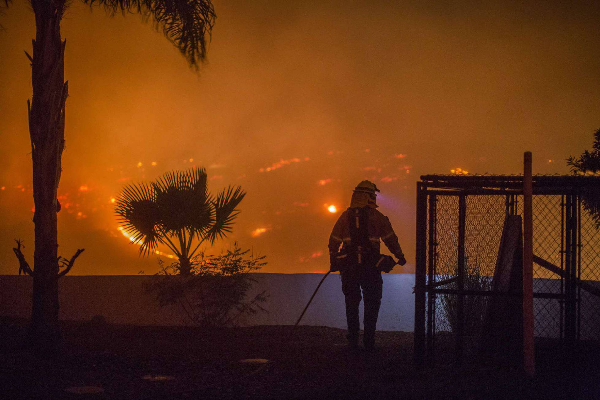 bombero california