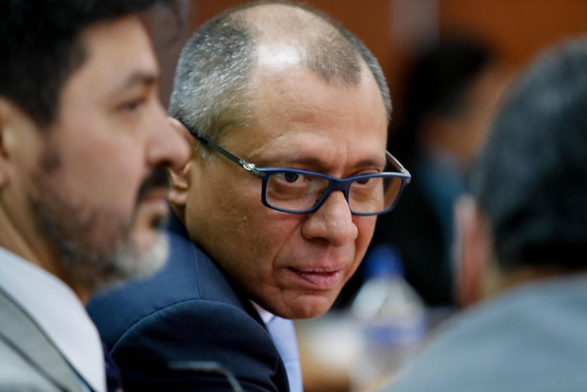 El vicepresidente de Ecuador, condenado a seis años de cárcel por el 'caso Odebrecht'