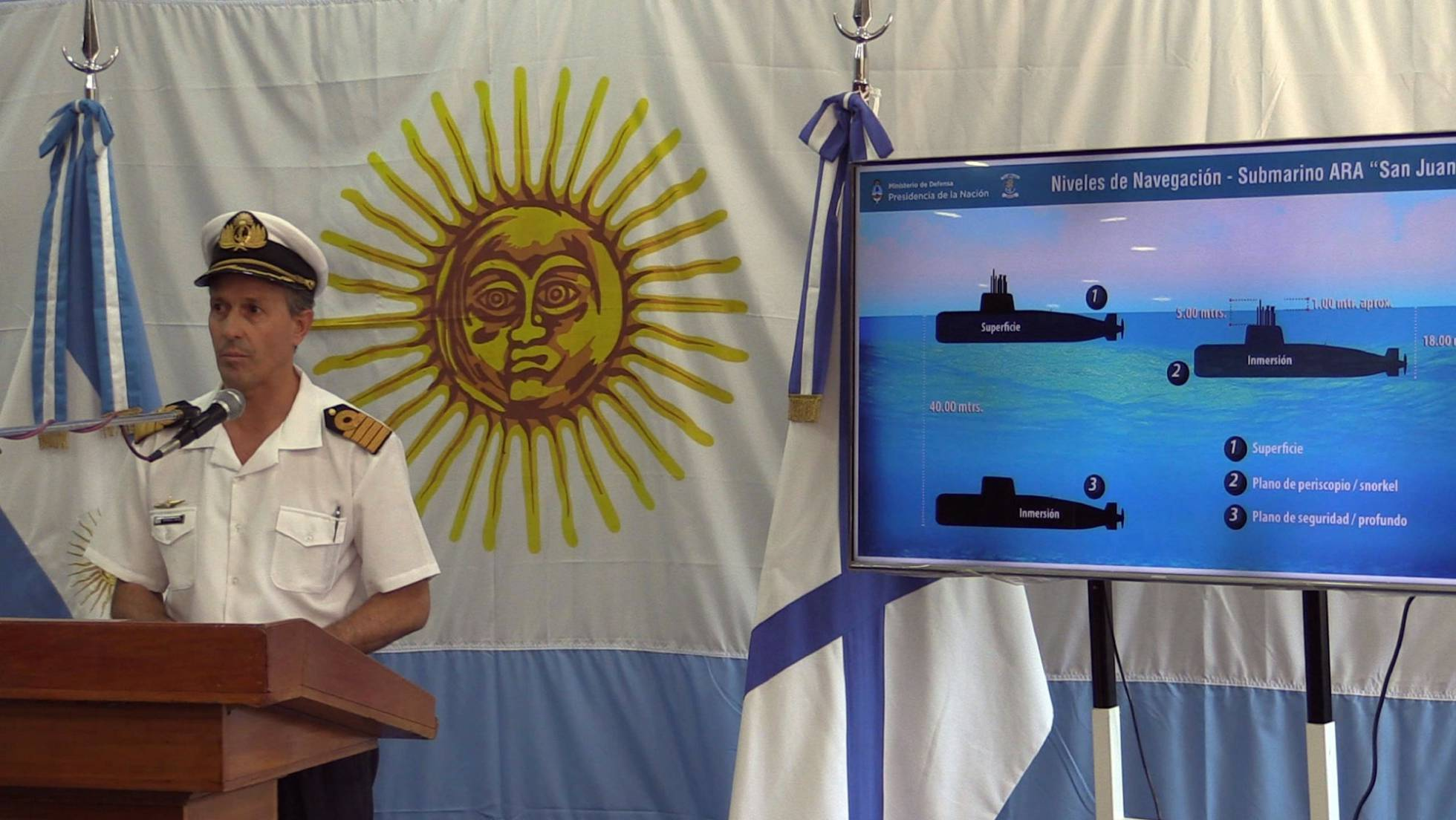 portavoz armada argentina