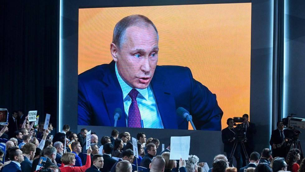 Putin se apoya en su carisma e irá a las elecciones de 2018 como independiente