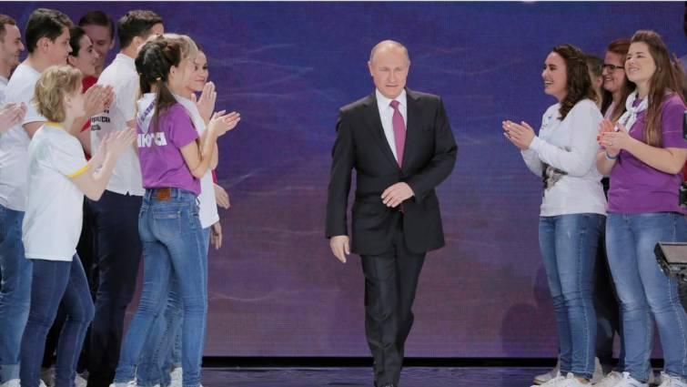 Putin anuncia su candidatura a la reelección en las presidenciales de 2018