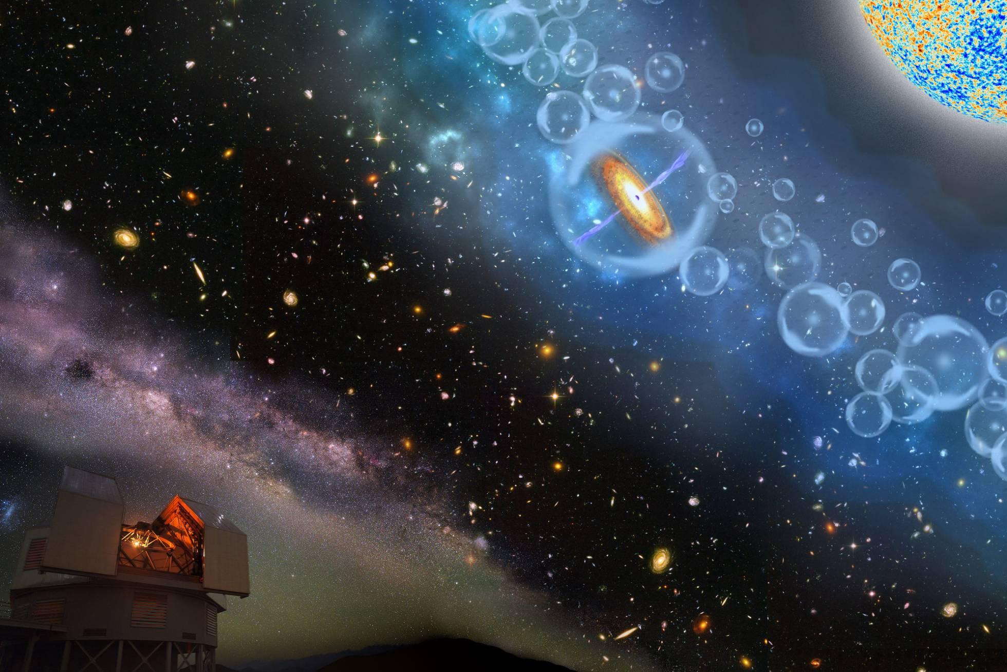 Descubierto el agujero negro más antiguo del universo