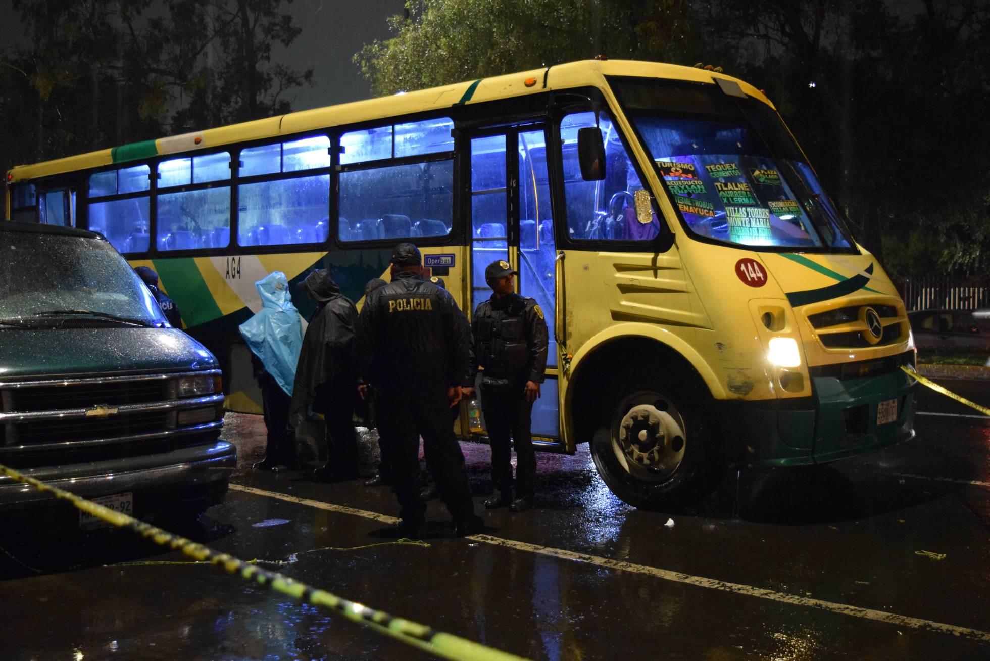 Los robos violentos en el transporte se disparan en México