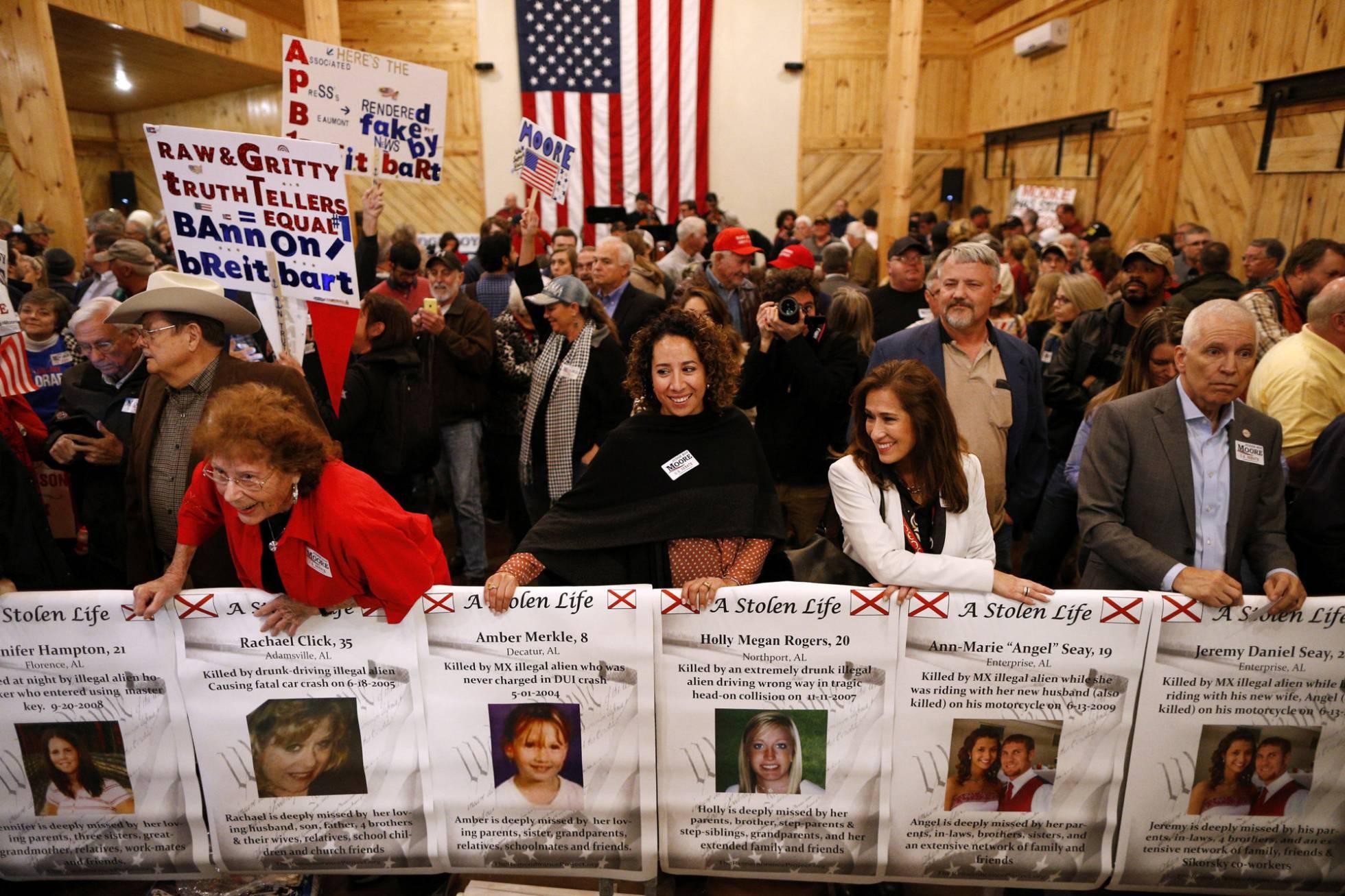 La fidelidad del voto republicano afronta su prueba de fuego en Alabama