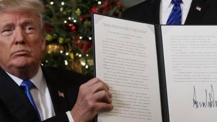 Trump rompe el consenso y reconoce oficialmente Jerusalén como «capital de Israel»