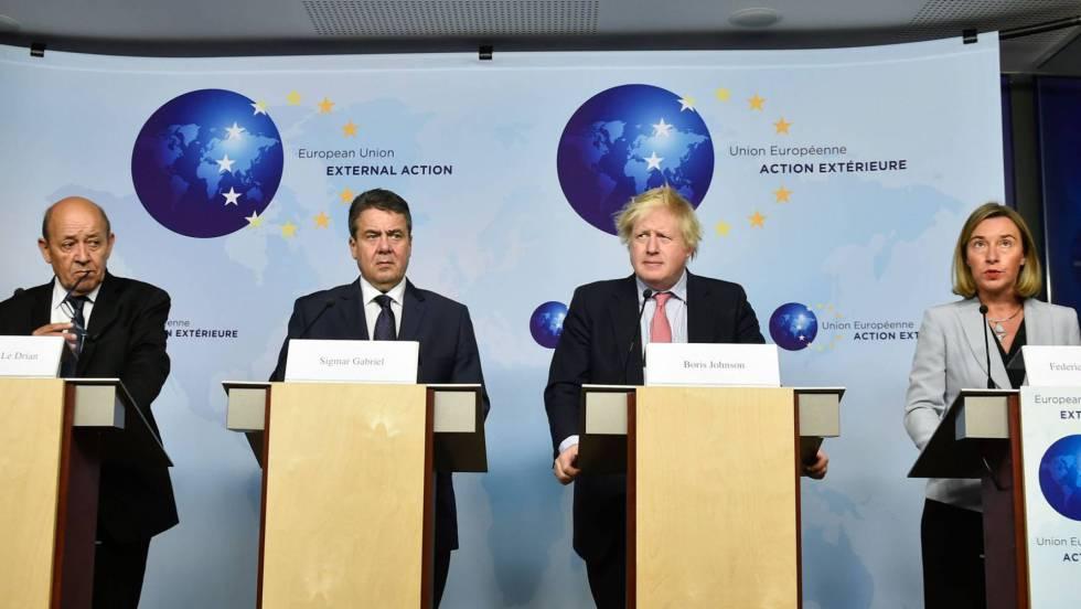 La UE urge a Washington a mantener el pacto nuclear con Irán