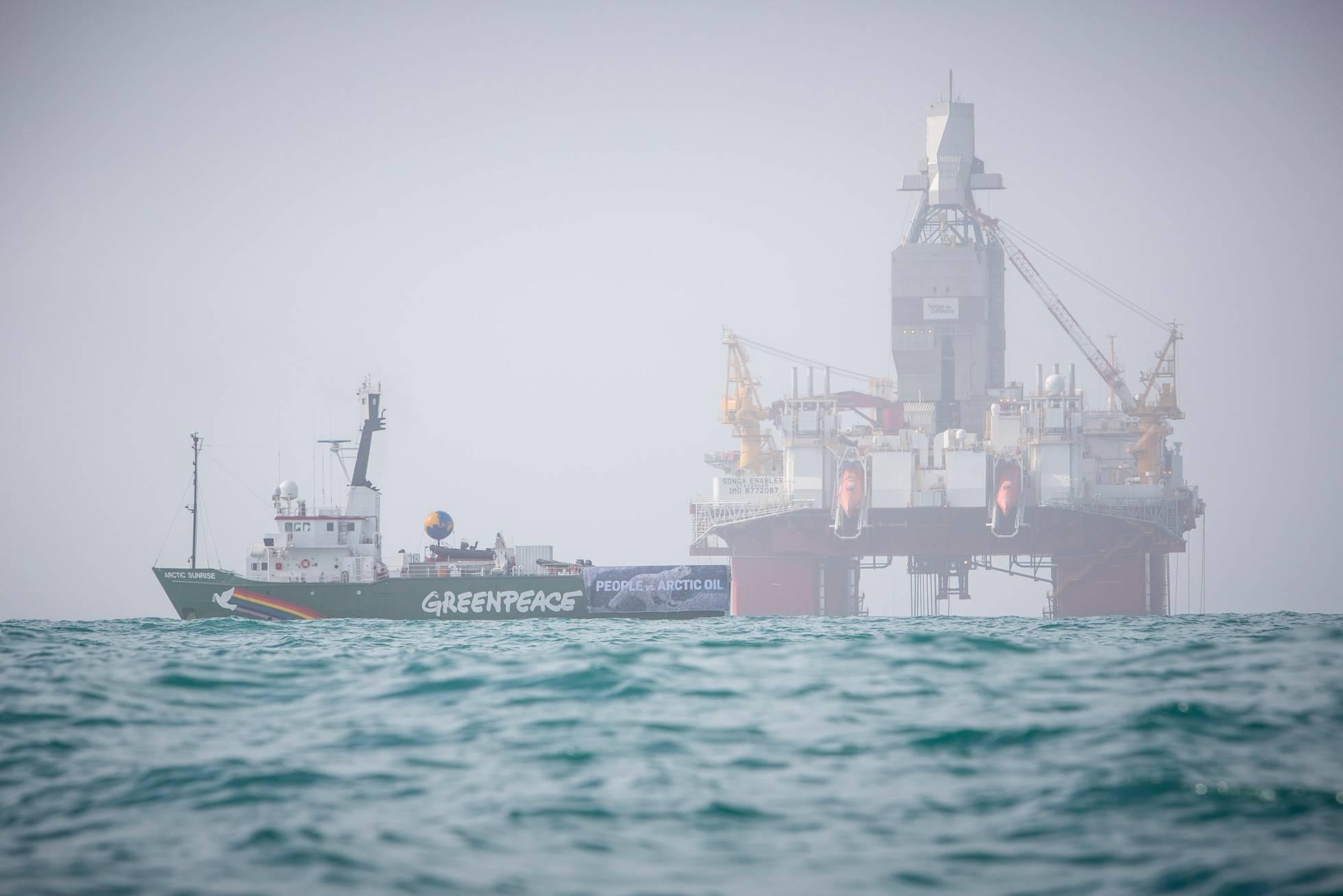 La justicia noruega avala la extracción de petróleo en el Ártico denunciada por Greenpeace