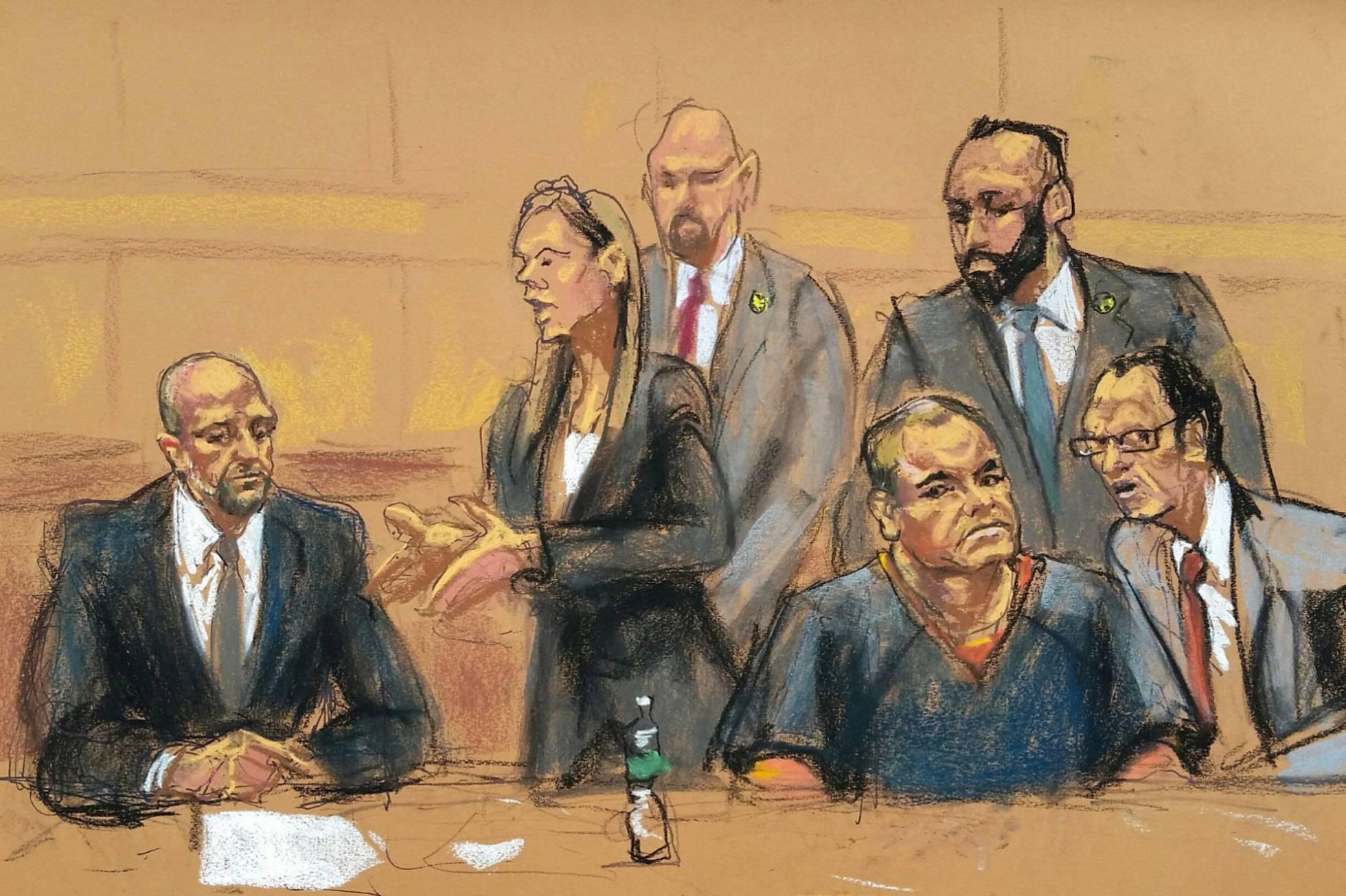 el chapo y sus abogados