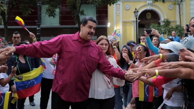«Juntos podemos más», Maduro usa el lema de Podemos para las presidenciales